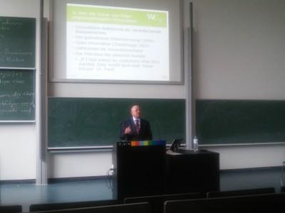 Vortrag Prof. Grün
